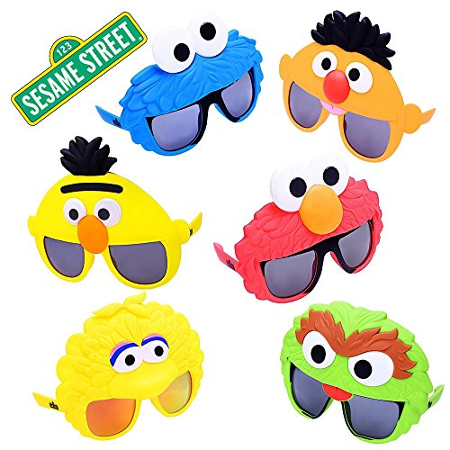 Sesame Street Party Supplies Birthday Toys Favors Sunglasses 6 Pack