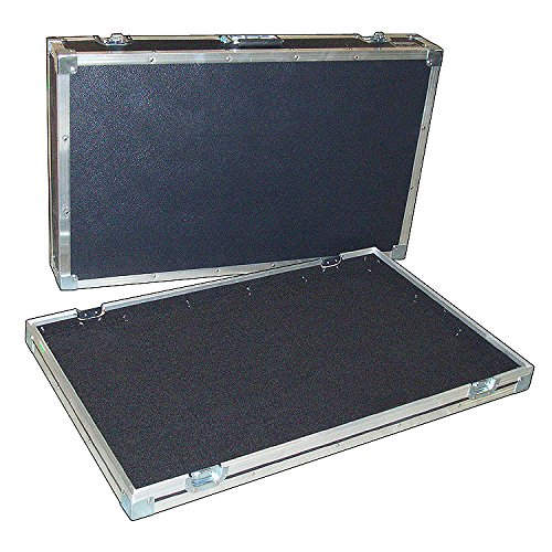Pedal Board Effects Pedal ATA Case - 4 Catch 1/4 Ply Medium Duty - Id 40 x 20 x 6 High
