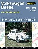 Volkswagen Beetle Type I 1200, 1300, 1500 1962-70 Workshop Manual