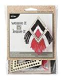 Bucilla 49027E Classic Diamond Mini Loom Weave It N' Leave It Kit