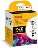 Kodak Genuine 10B/ 10C Ink Cartridge Combo Pack - Black/ Colour (425/ 420 Pages)