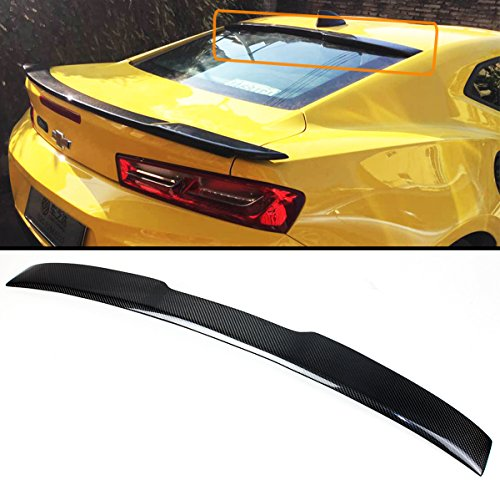 Cuztom Tuning For 2016-17 Chevy Camaro LT RS Sport Carbon Fiber Rear Window Roof Spoiler Wing ()