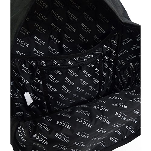London Backpack Nicce Negro Reflective Curtis Black 0qn1S7