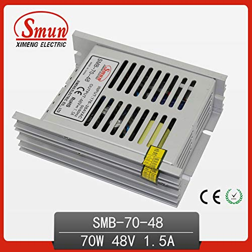 Utini 70W 48V 1.5A Ultra-Thin Single Output Switching Power Supply Hot Sale with CE ROHS