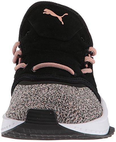 Puma Donna Tsugi Shinsei Evoknit Wn Sneaker Puma Black-whisper White-castor Grey