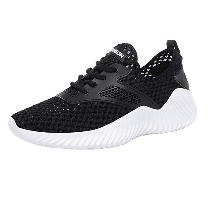 JiaMeng Zapatillas de Entrenamiento para Hombre Zapatos Deportivos ...