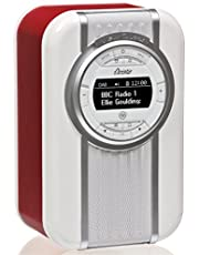 VQ Christie HD & FM Radio with Bluetooth/NFC Speaker - Red