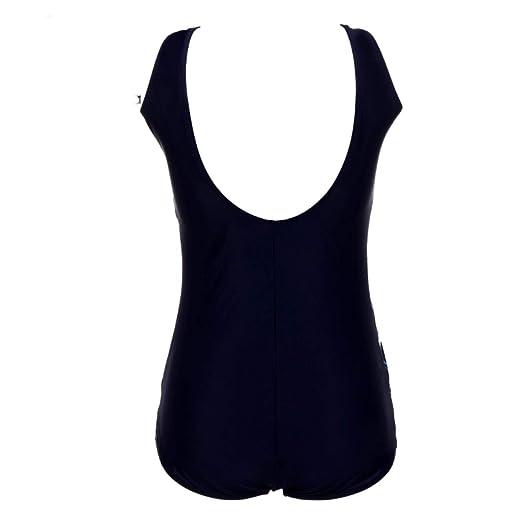 GbEFTDxy Women Vintage Bathing Beachwear Print Plus Size One Piece Swimsuit