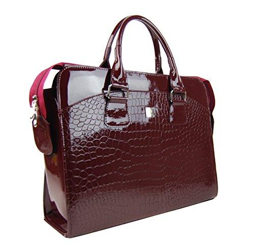15 pulgadas LC 6 PUNCE maletn 01 bordo para para mujer para rojo de bolso bolso Elegante porttil laptop zCPvCqr