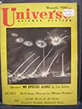 img - for Universe Science Fiction November 1954 (No. 8) book / textbook / text book
