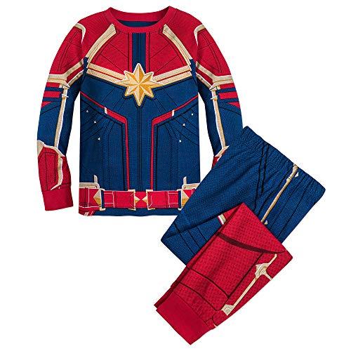 Marvel Captain Costume PJ PALS for Girls Size 7 Multi
