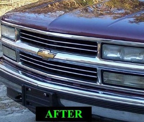 amazon 312 motoring fits 1991 2000 chevrolet silverado chrome Silverado Front Grille amazon 312 motoring fits 1991 2000 chevrolet silverado chrome grill grille kit chevy 1992 1993 1994 1995 1996 1997 1998 1999 91 92 93 94 95 96 97 98 99