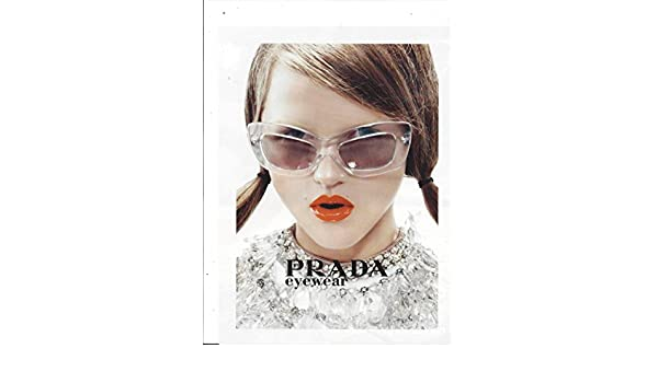 dc52c49d6827 PRINT AD With Rasa Zukauskaite For 2010 Prada Sunglasses at Amazon s  Entertainment Collectibles Store