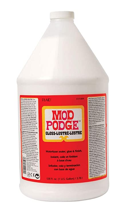 Mod Podge Gloss Waterbase Sealer Glue And Finish 1 Gal