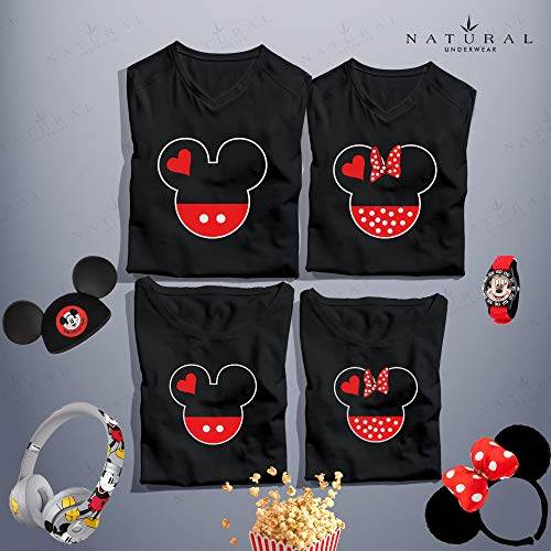 2340f67e19c3 Natural Underwear Family Vacation Mickey Minnie Mouse T Shirt Dad Mom Youth  Kids