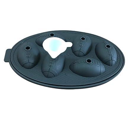 Compra HUPLUE - Moldes de Silicona con Forma de balón de fútbol ...
