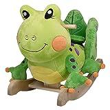 Image of Rockabye Fergie Frog Rocker, One Size