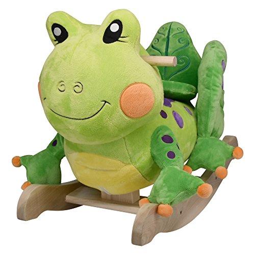 Rockabye Fergie Frog Rocker, One Size by Rockabye