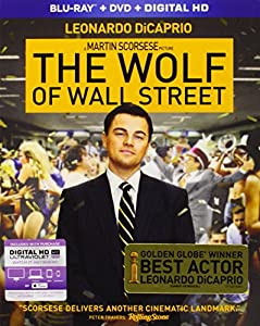 Cover Image for 'The Wolf of Wall Street (Blu-ray + DVD + Digital HD)'