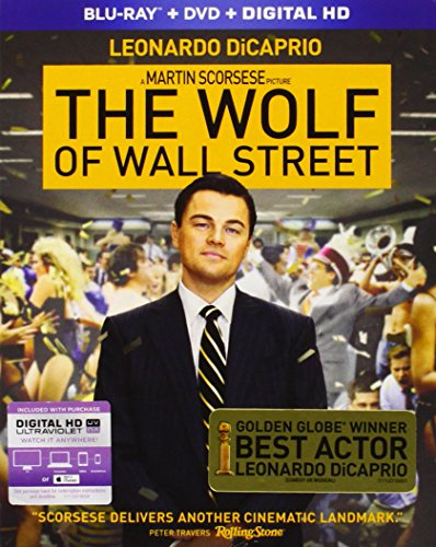 The Wolf of Wall Street (Blu-ray + DVD