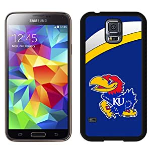 Beautiful And Popular Designed With NCAA Big 12 Conference Big12 Football Kansas Jayhawks 2 Protective Cell Phone Hardshell Cover Case For Samsung Galaxy S5 I9600 G900a G900v G900p G900t G900w Phone Case Black