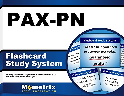 PAX-PN Flashcard Study System: Nursing Test Practice Questions & Review for the NLN Pre-Admission Examination (PAX) (Cards)