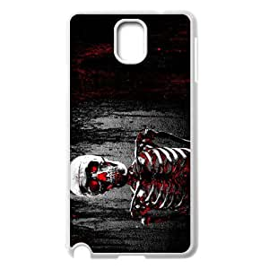 Samsung galaxy note 3 N9000 Bloody skeleton Phone Back Case Art Print Design Hard Shell Protection YT073101