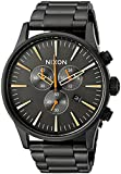 Nixon Men's 'Sentry Chrono' Quartz Metal and Stainless Steel Watch, Color:Black (Model: A3861032-00)