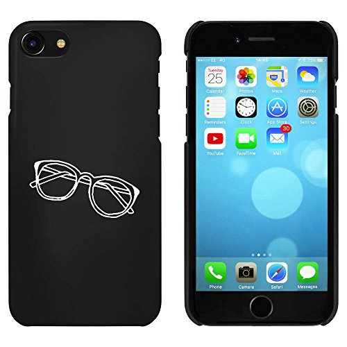Noir 'Lunettes' étui / housse pour iPhone 7 (MC00061445)