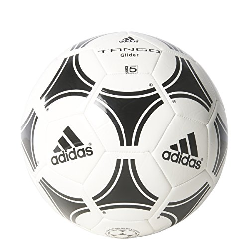 adidas Performance Tango Glider Soccer Ball, White/Black, Size 5 (Soccer Size 5 Adidas Ball)