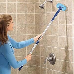Amazon Com Miles Kimball Long Handle Tub Scrubber Home