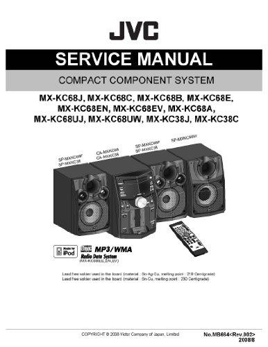 JVC MX-KC68A SERVICE Manual