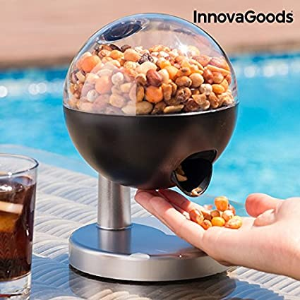 Innovagoods- Mini Dispensador Automático De Caramelos Y Frutos Secos, Multicolor (IGS IG11396)