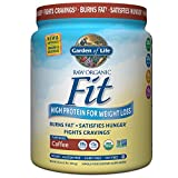 Garden of Life Meal Replacement - Raw Organic Fit Vegan Nutritional Shake for Weight Loss, Coffee, 16 Ounces (454g)