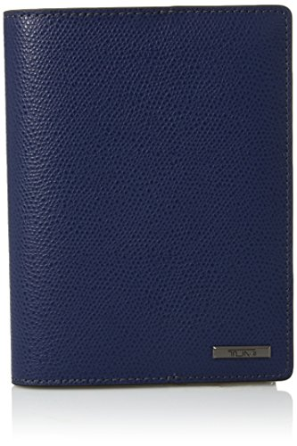 TUMI Unisex-Adult's Province Passport Cover, blue, One Size