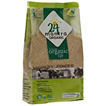 24 Mantra Organic Jaggery Powder (500g) by 24 Mantra