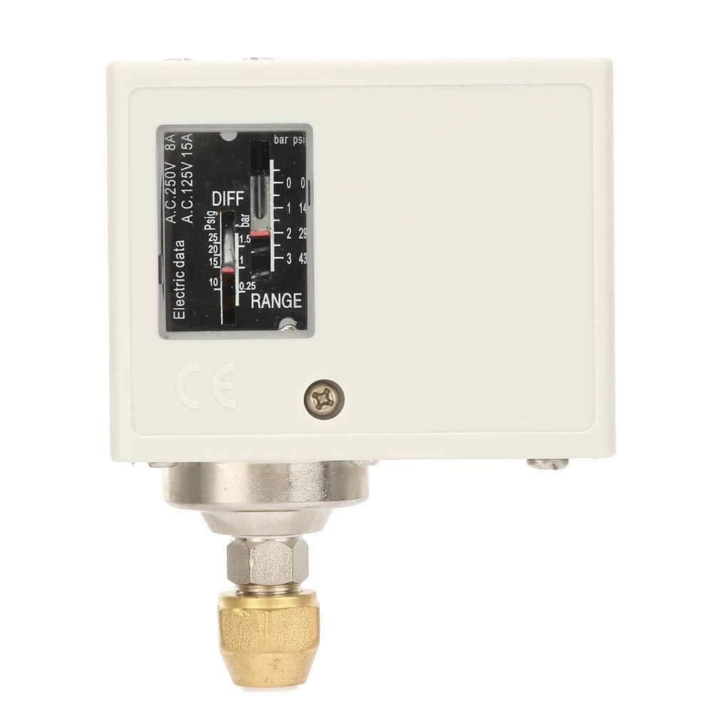 Contr/ôleur de Commutateur de Pression de Pompe /à Eau Electrique pour Compresseur dAir Eau Pressostat Central Pneumatique SPC-103E