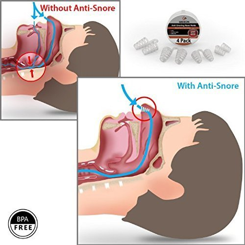 snoring through nose how to stop it