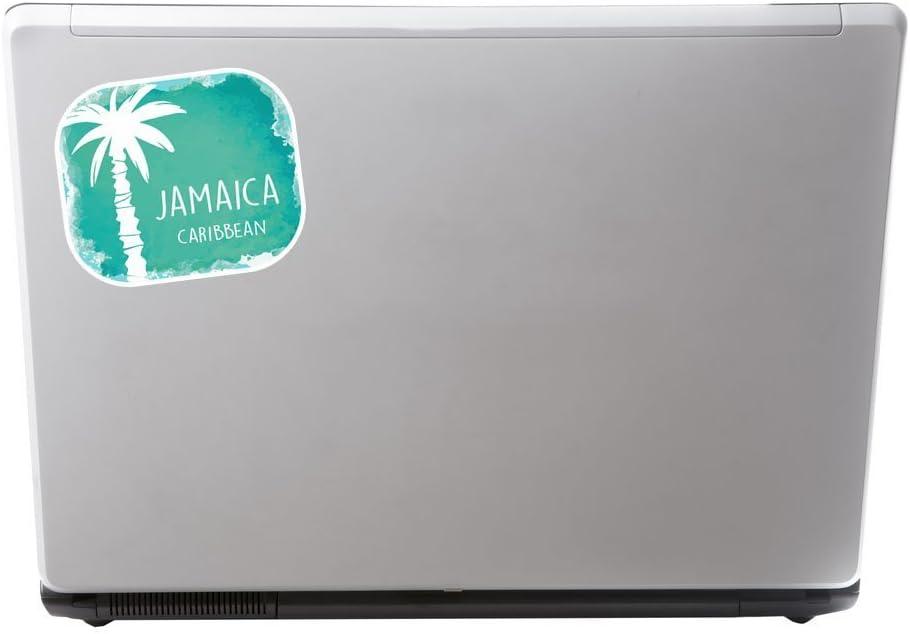 2 x Jamaica Caribbean Vinyl Sticker Laptop Travel Luggage Car #6770