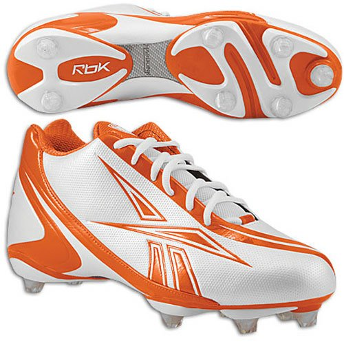 Speed Men's Nfl 5 Sd3 Bunner 8 Orange Fb Football White Reebok Shoes xqEt686