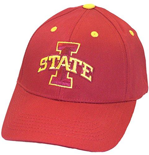 落ち着くつぶやき生き返らせるNCAA公式Iowa State Cyclonesチームロゴ刺繍レッド野球スタイル帽子キャップ
