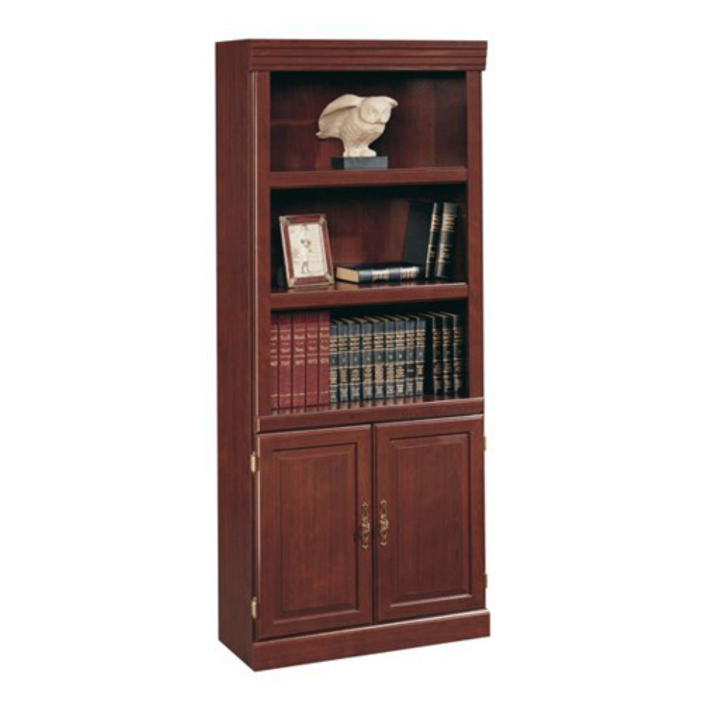 Sauder Heritage Hill 2-Door Bookcase, Classic Cherry: Amazon.ca: Home &  Kitchen - Sauder Heritage Hill 2-Door Bookcase, Classic Cherry: Amazon.ca