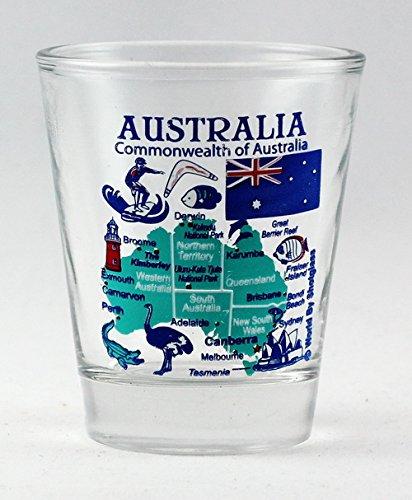 Australia Landmarks and Icons Collage Shot ()
