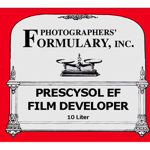 写真家' Formulary prescysol EF Film開発者、Makes 10ltソリューション   B0064VTCKI