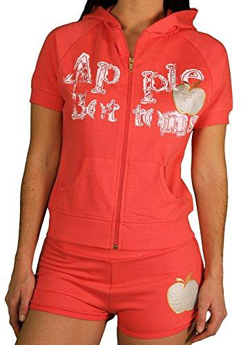 Apple Bottoms Juniors 2-Pc Short Set, Dubarry, Size Large (Apple Bottoms Womens)