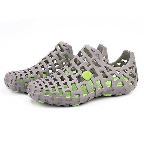 Zcaosma Beach Shoes Couple Breathable Clogs Outdoor Soft Unisex Big Shoes Casual Sandals Men Big Unisex Size 45 B07DNY5ZBS Shoes 9773cf