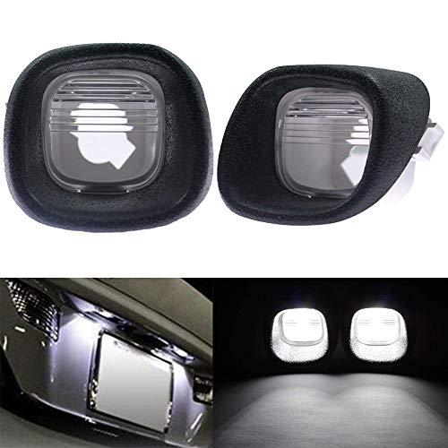 2 License Plate Light Rear Lamp Lens for Blazer S10 Pickup Jimmy S-15 Sonoma ()