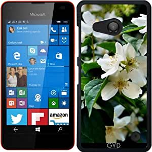 Funda para Microsoft Lumia 550 - Flores Blancas by Helsch1957