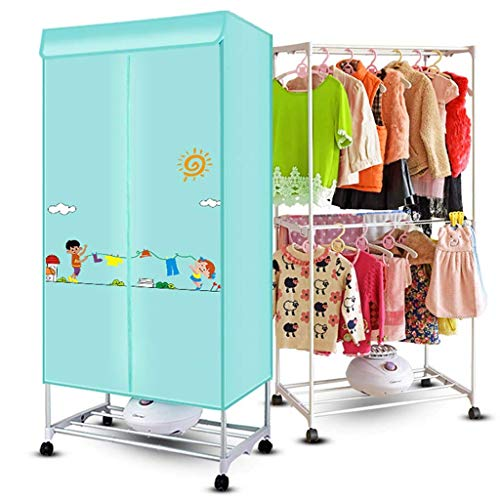 - XAJGW Portable Clothes Dryer Square Dual Deck Electric Laundry Dryer with Cover