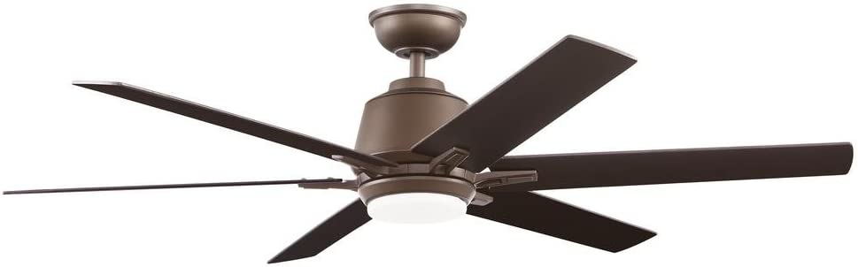 Home Decorators Collection Kensgrove 54 In Integrated Led Indoor Espresso Bronze Ceiling Fan With Light Kit And Remote Control Amazon Com